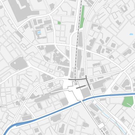 東京 渋谷 マップ PDFデータ