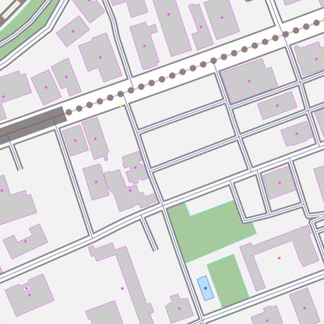 東京 飯田橋・市ヶ谷・四ツ谷 ベクター地図データ(eps) 日本語/英語 並記版
