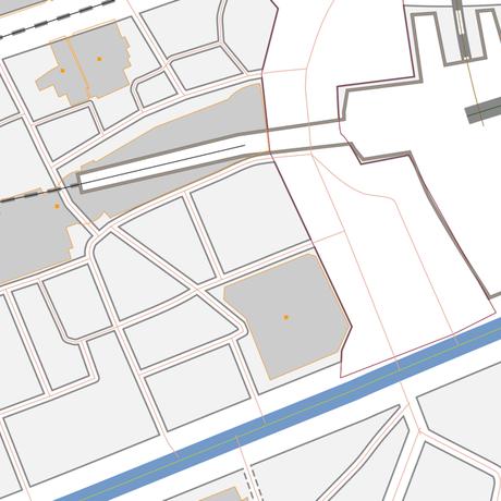 東京 渋谷 ベクター地図データ(eps) 日本語/英語 並記版