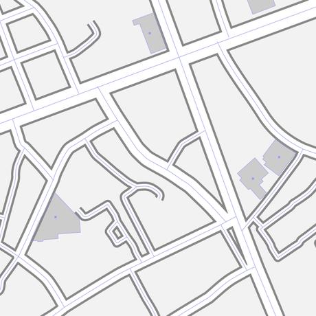 沖縄 那覇  ベクター地図データ(eps) 中国語繁体字 / 英語 並記版