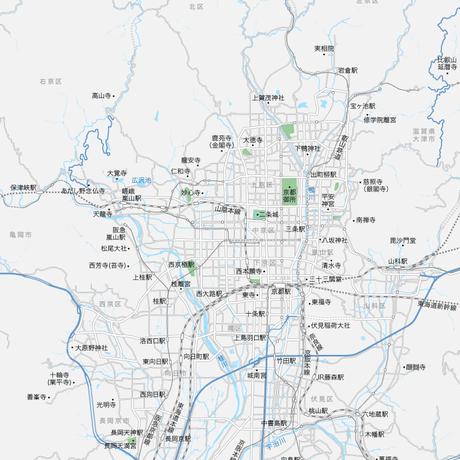 京都 広域 マップ PDFデータ