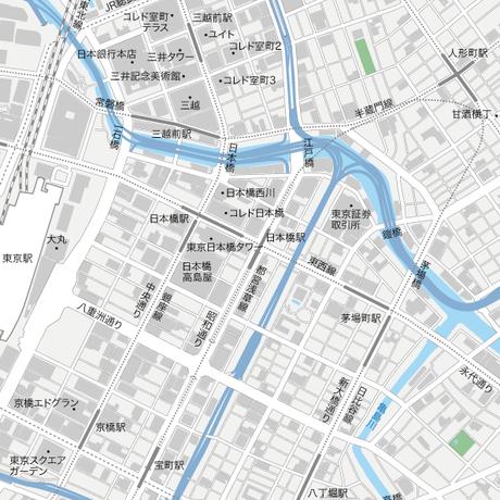 東京 日本橋マップ PDFデータ