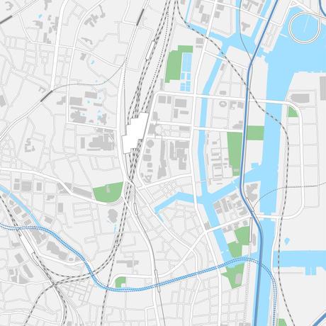 東京 品川 マップ PDFデータ