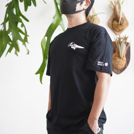ICE CREAM_Tシャツ   type:リドレイ② ブラック