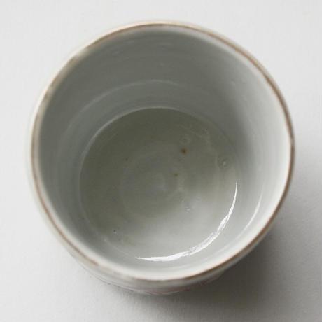 C-202 古伊万里 KOIMARI 色絵 孟宗 筍掘り文 覗猪口
