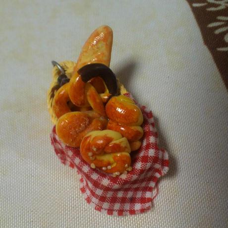 パン籠キーホルダー