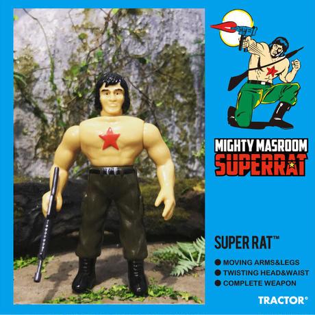 """MIGHTY MASHROOM SUPER RAT """"SUPER RAT"""""""