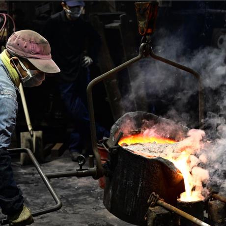 銅合金製鋳物鍋「tefu-tefu てふてふ」 ※ガス火 直火専用