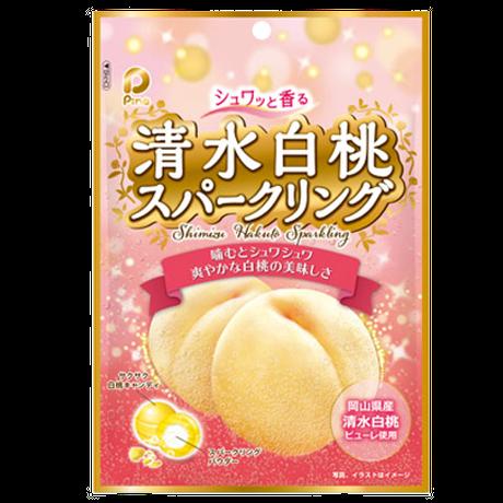 80gシュワッと香る清水白桃スパークリング(10袋)