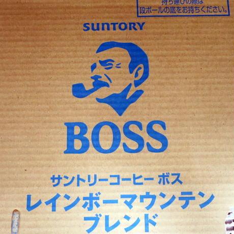 サントリー ボス レインボーマウンテンブレンド 185g×30缶 箱売