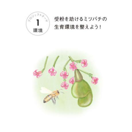 【Do well by doing  good.投票】テーマ①環境 受粉を助けるミツバチの生育環境を整えよう!