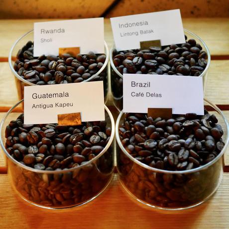 【定期便】コーヒービーンズ4種 ×50g