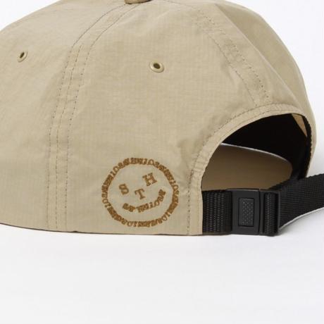 SAYHELLO / Face Logo 6Panel Cap -Beige- / キャップ