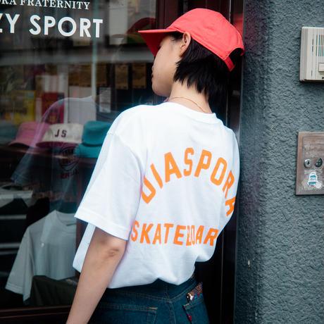 "Jazzy Sport x Diaspora skateboards JS 'SYMBIOSIS"" Tee -White- / 半袖Tシャツ"