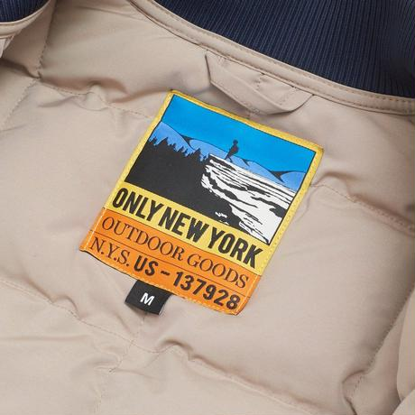 ONLYNY / Outdoor Goods Puffer Vest -Sand- / パフベスト