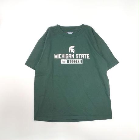 USED KIDS / CHAMPION Tシャツ -green- / 古着(子供服)Tシャツ