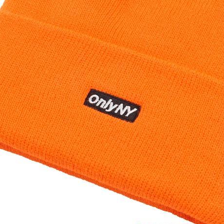 ONLYNY / Block Logo Thinsulate® Beanie -Safety Orange- / ニットキャップ
