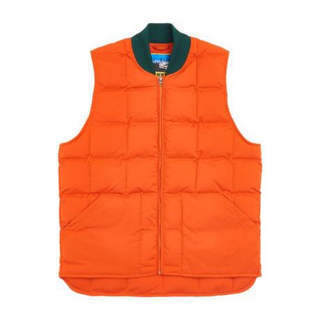 ONLYNY / Outdoor Goods Puffer Vest -Orange- / パフベスト