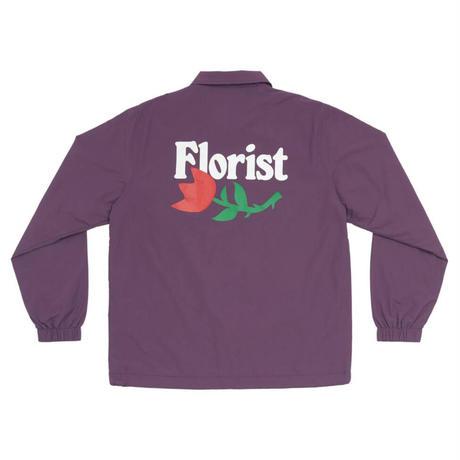 ONLYNY / Florist Coaches Jacket -Dark Purple- / ナイロンコーチジャケット