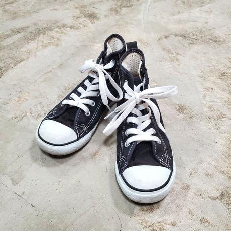 USED KIDS / CONVERSE ALL STAR  -black- / 古着(子供服)コンバース オールスター スニーカー