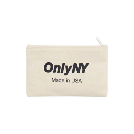 ONLYNY / Logo Travel Pouch -Natural- / ポーチ