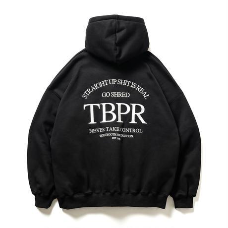 TIGHTBOOTH / TBPR / STRAIGHT UP HOODIE -Black- / パーカー