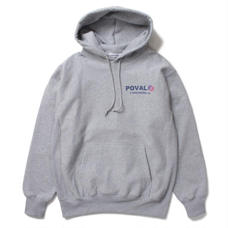 Cabaret Poval / Rational Hooded Sweatshirt -M.Grey- / パーカー