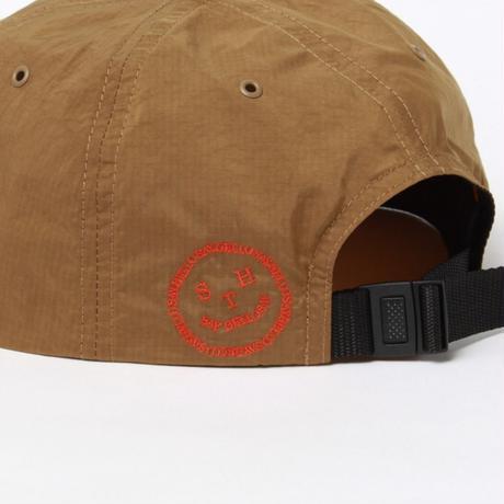 SAYHELLO / Face Logo 6Panel Cap -Mocha- / キャップ