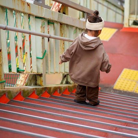 OTOGIBANASHI / すすすslacks(KIDS)-Brown- / ワイドスラックス(子供服)