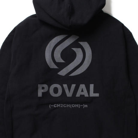 Cabaret Poval / Rational Hooded Sweatshirt -Black- / パーカー