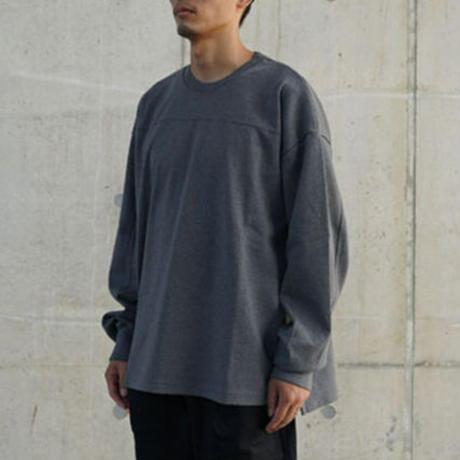 FAKIESTANCE / Heavy Tee Long Sleeve -Gray- / 長袖カットソー
