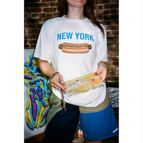 ONLYNY / New York Hotdog T-Shirt -White- / 半袖Tシャツ