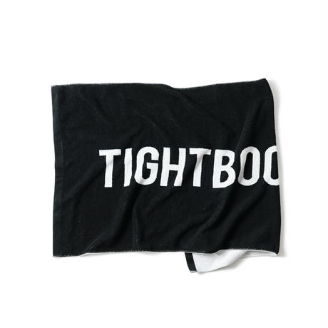 TIGHTBOOTH / TBPR / JACQUARD BIG TOWEL -Black- / ビッグタオル
