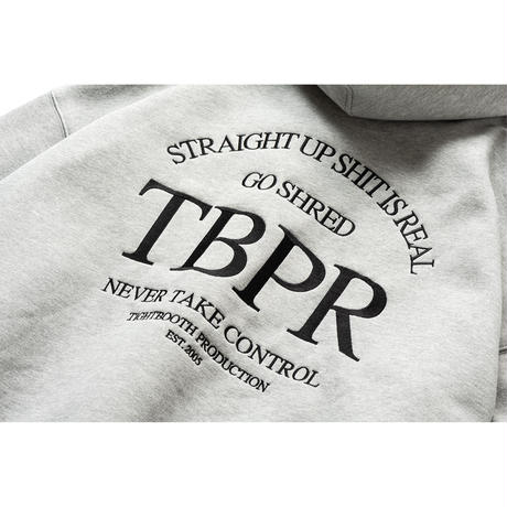 TIGHTBOOTH / TBPR / STRAIGHT UP HOODIE -Grey- / パーカー