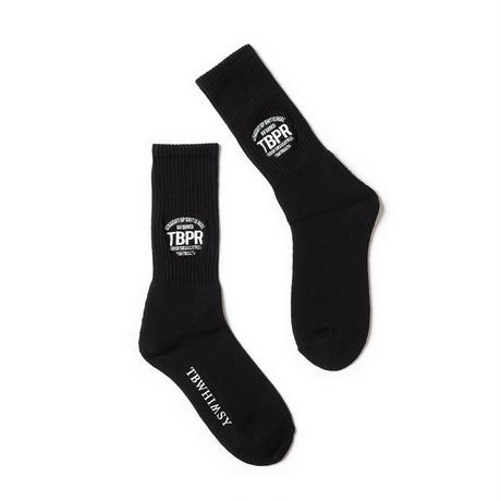 TIGHTBOOTH / TBPR / STRAIGHT UP SOCKS -Black- / 靴下