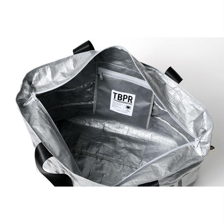TIGHTBOOTH / TBPR / TRASH TOTE BAG -Silver- / トートバッグ