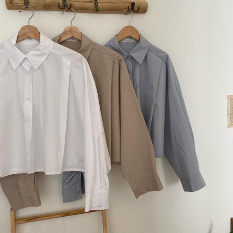 crop basic shirt