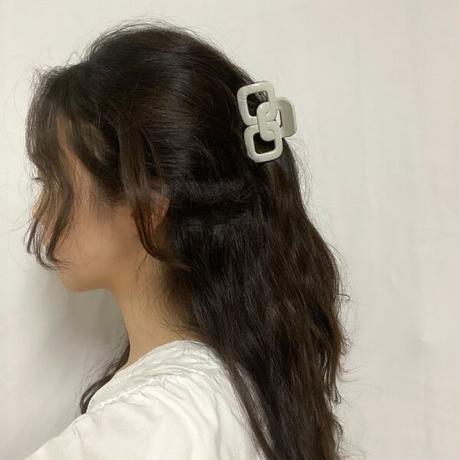 square hair clip
