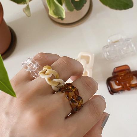 호마이카 clear ring