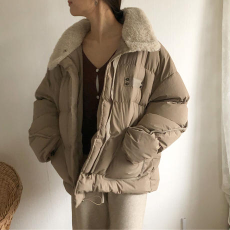 오리 패딩 duck down coat (brown)