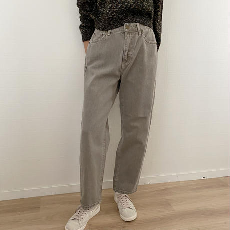 daily straight pants