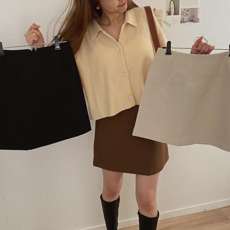 basic mini skirt