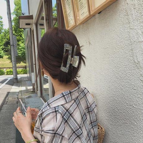 믹스미들 hair clip