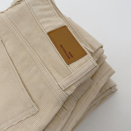 corduroy white denim