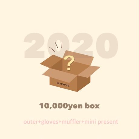 in/new year box ¥10,000-