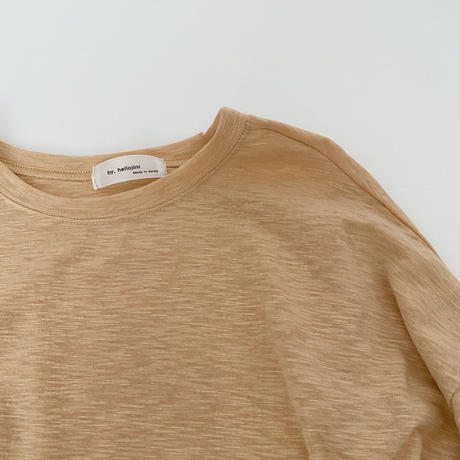 basic long sleeve T