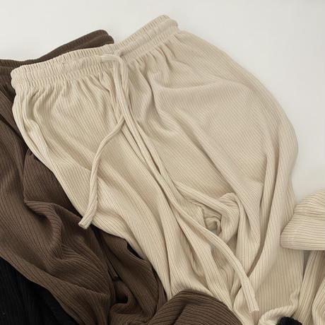 knit corduroy pants