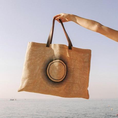 <The Beach People>Mon Soleilジュートバッグ