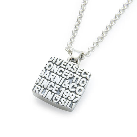 20th Engrave College Pendant - S