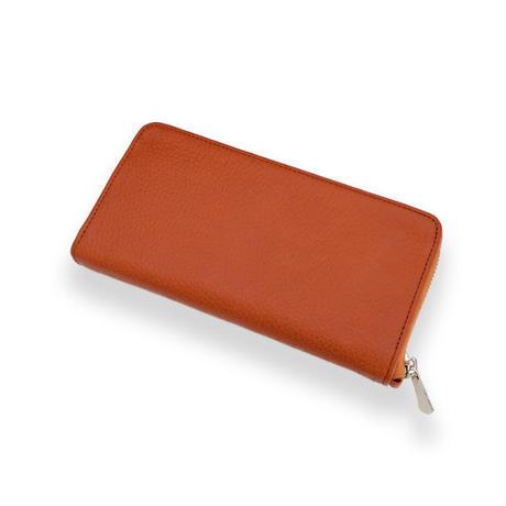 Sign Zip Long Wallet - ORANGE